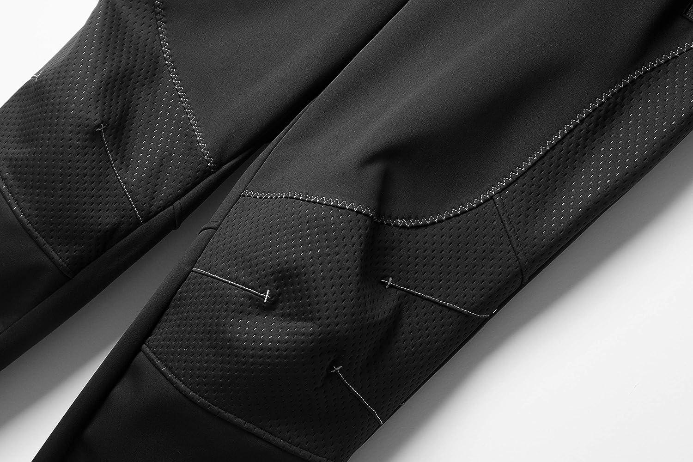 Letook Pantaloni da Ciclismo Lunghi Invernali Antivento Termici Impermeabile per Outdoor Sports Uomo