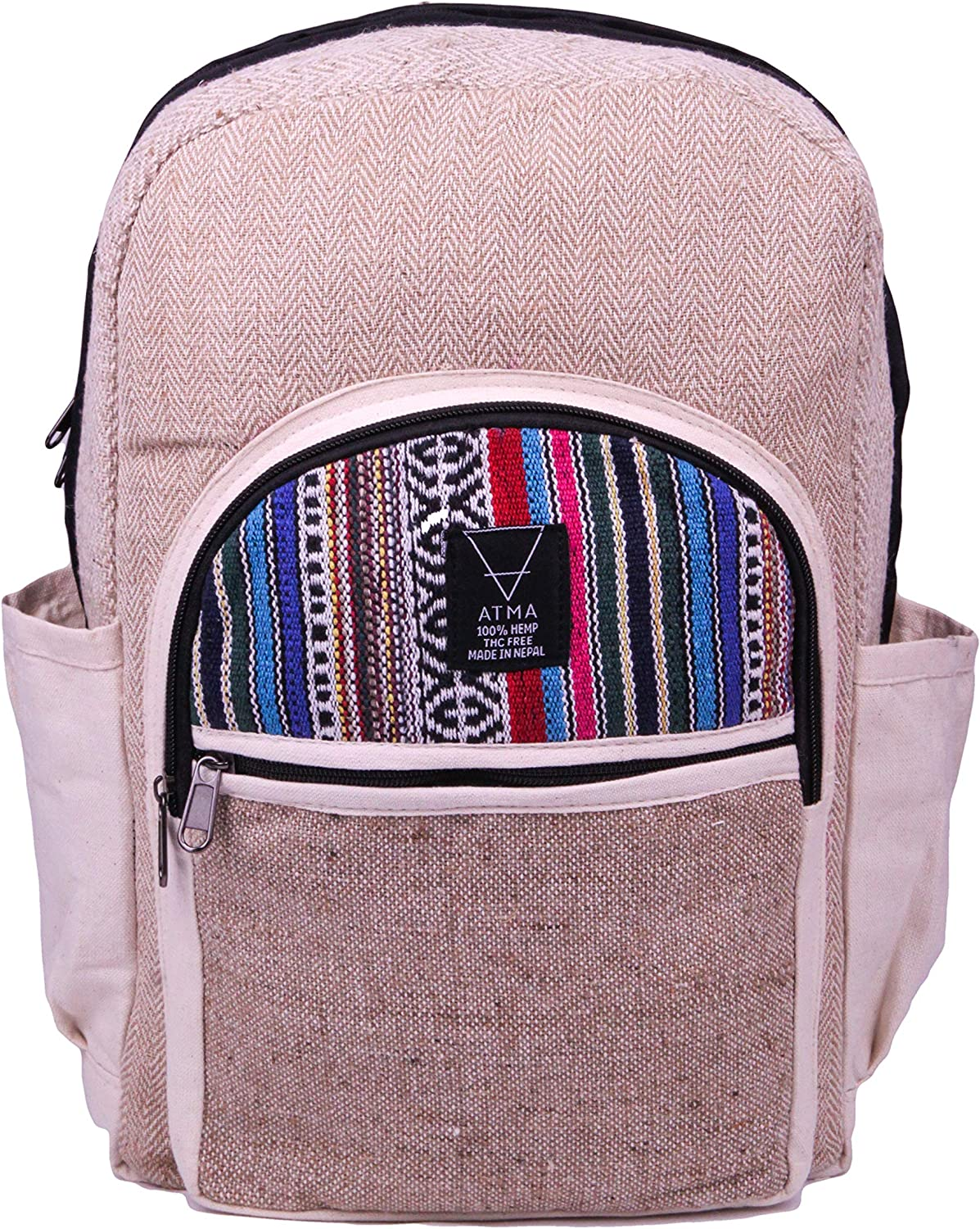 Handmade Organic Hemp Backpack - Sustainable Slow Fashion Line Line Line - A5041 B07H8SD1RW  Schön und charmant ca3bd0