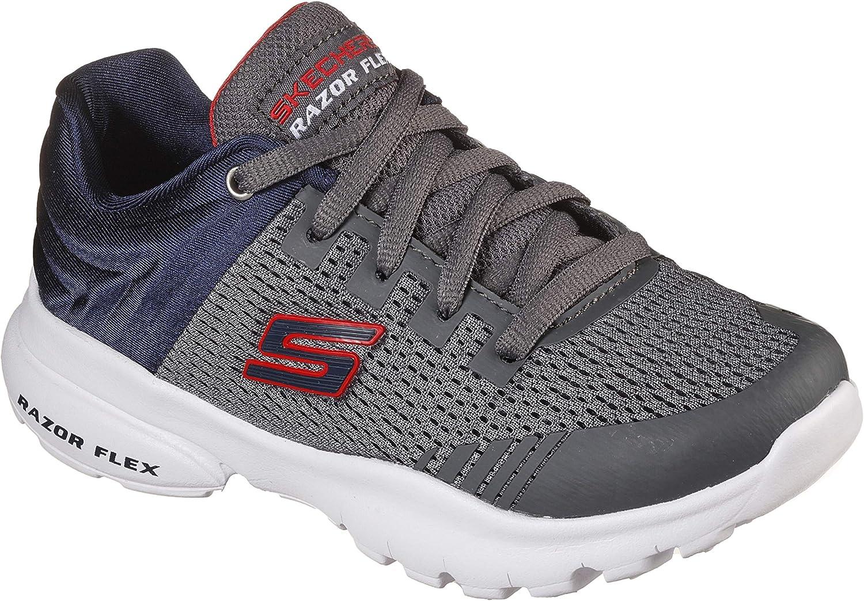 Skechers Unisex-Child Razor Flex-Skorvo Sneaker