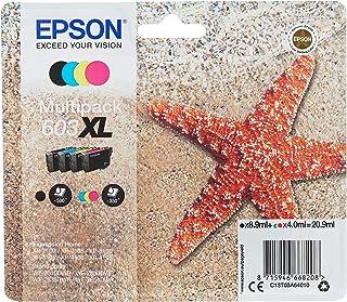 Originele Epson 603 XL inktcartridges, Multipack 4 Kleuren