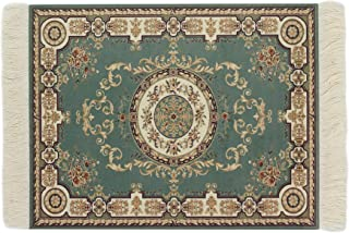 Kotoyas Persian Style Carpet Mouse Pad, Several Images (Oriental Green)