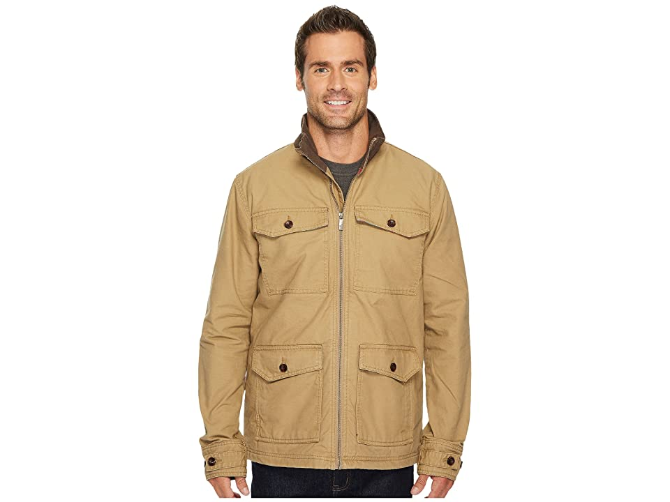 Toad&Co Carver Canvas Coat (Honey Brown) Men
