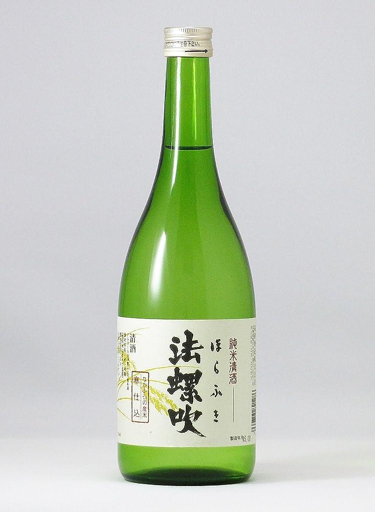 口述する未知の乳剤高砂酒造 黒松高砂 純米「法螺吹」 [ 日本酒 720ml ]