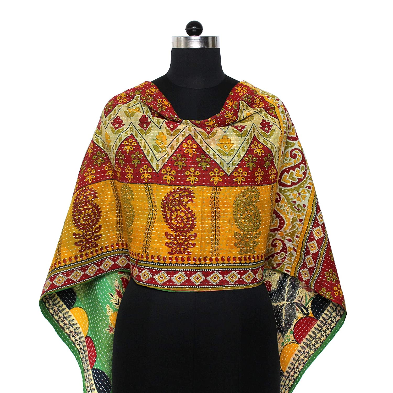 New life New Kantha Scarf Cotton Manufacturer OFFicial shop Sari Stole Hand Wrap Dupatta Indian Neck