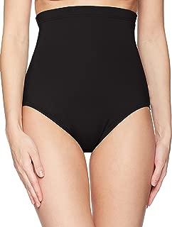 Women's Color Blast Solids Super High Waist Shape Control Bikini Bottom