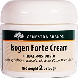 Genestra Brands - Isogen Forte Cream - Soy Isoflavones from Soybeans Along with Wild Yam - 2 Ounces