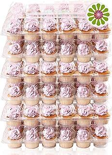 (24 Paquetes x 6 Juegos) STACKnGO Capacidad para 24 Cupcakes