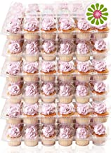 Best cupcake containers bulk Reviews