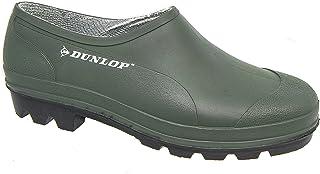 Mens Waterproof Gardening Clog Green Black Outdoor Slip On Shoes