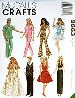 Mccall's Crafts 9663 Doll Pattern