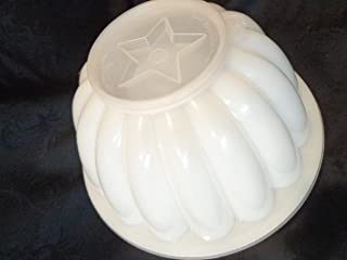 Vintage REPLACEMENT PIECES for Tupperware Bundt Style Jello Mold, Tupperware Jel-n-Serve