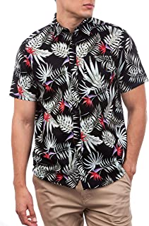 Hurley M Exotic Stretch Woven S/S Camisa Hombre