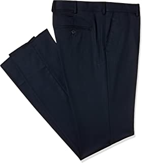 eae5e15b Excalibur by Unlimited Men's Slim Formal Trousers  (8907542687497_400016628111_36W x 35L_Navy)