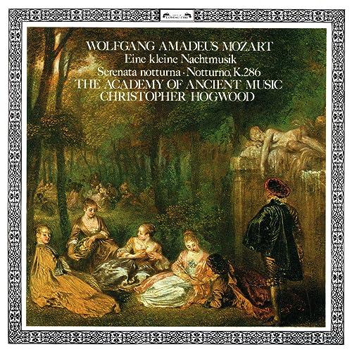 Mozart: Eine kleine Nachtmusik; Notturno; Serenata Notturna di ...