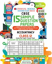 Oswaal CBSE Sample Question Papers Class 12 Accountancy Book (For March 2020 Exam)