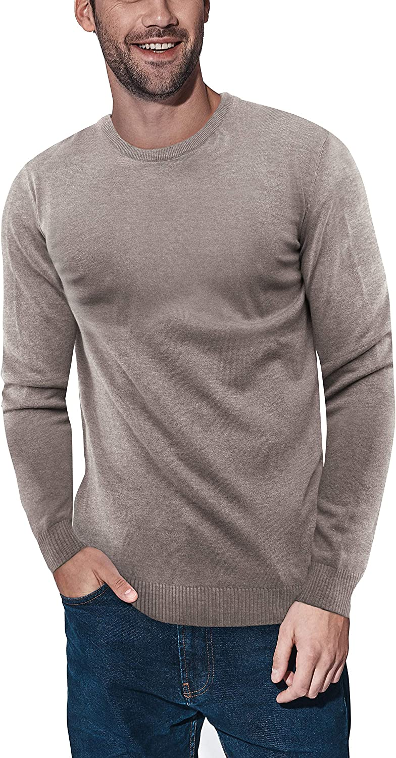 X RAY Crewneck Sweater for Men Fitted Ultra Miami Mall Pullov Fit Los Angeles Mall Soft Slim