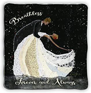Cathedral Art (Abbey & CA Gift) Breathless Forever And Always Art Metal Plaque