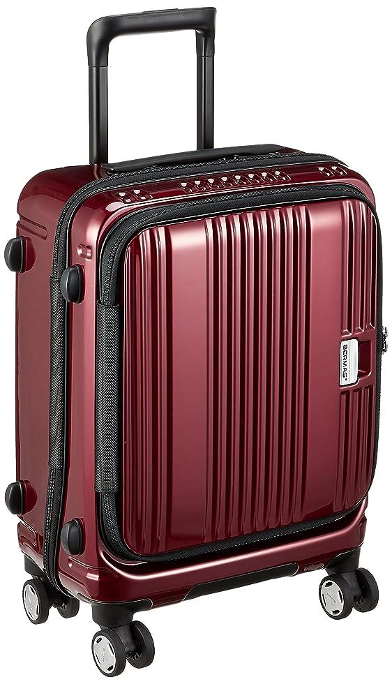 速報アレルギー樫の木[バーマス] スーツケース ジッパー ユーロシティ フロントオープン 機内持ち込み可 60290 38L 46 cm 2.8kg