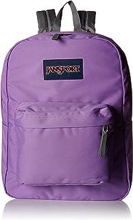 JanSport Unisex-Adult Superbreak Backpack, Vivid Lilac - JS00T501
