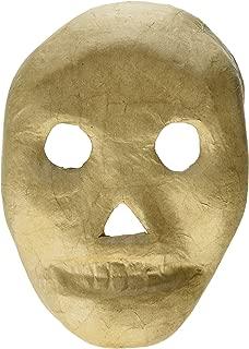 Craft Ped Paper CPLMB0017 Mache Mask Kid Skull Kraft