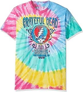 Men's Grateful Dead Amer Music Hall Spiral Tie Dye T-Shirt