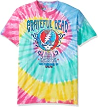 Liquid Blue Men's Grateful Dead Amer Music Hall Spiral Tie Dye T-Shirt