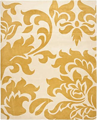 Safavieh Martha Stewart Collection MSR4546B Barcelona Handmade Premium Wool Cornucopia Area Rug (9' x 12')