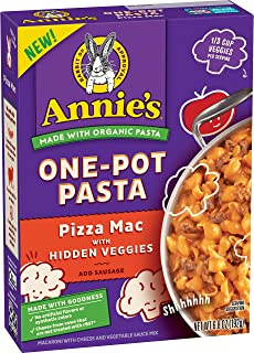 Annie's Homegrown Organic Pizza Mac One-Pot Pasta with Hidden Veggies, 192g