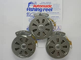 3 Mechanical Fisher's Yo Yo Fishing Reels -Package of 3 Reels- Yoyo Fish Trap -(FLAT..