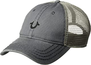 True Religion Men`s Core Logo Trucker Cap