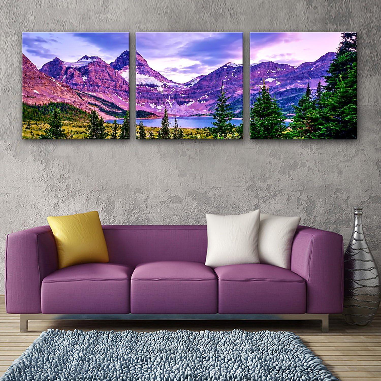 TT&ZHUANGSHI Leinwand-Kunst Die Plateau-Seen-Dekoration-Malerei-Satz , 40403 B077YKJP81 | Einfach zu spielen, freies Leben