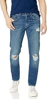 True Religion Men's Rocco Skinny Leg fit Jean, Guidelines, 40