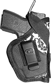 Crossfire Elite Luxe Low-Profile Conceal-Carry Women's Holster, Ambidextrous