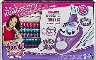Cool MAKER 2-in-1 KumiKreator Necklace & Friendship Bracelet Maker Activity Kit for..