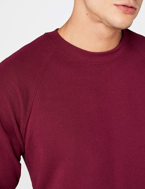 Fruit of the Loom Unisexe Raglan Sweat-Shirt