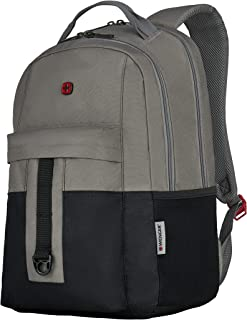 Wenger 604430 Laptop Backpack, Grey/Black, 20.0 L Capacity