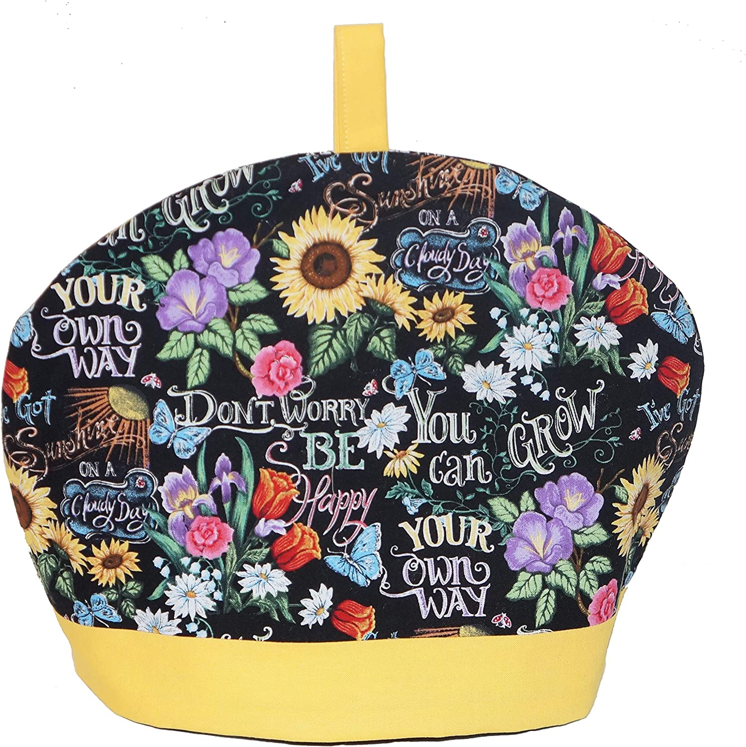 Whimsly Tea Arlington Mall Cozy 6-8 Cup Kansas City Mall Size Insulated Songs Desig Sixties