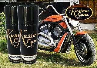 Kustom Canz Harley Davidson Racing Orange - Aerosol can Kit - Paint Code S28552