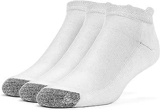 Galiva Men's Cotton Extra Soft No Show Cushion Running Socks - 3 Pairs