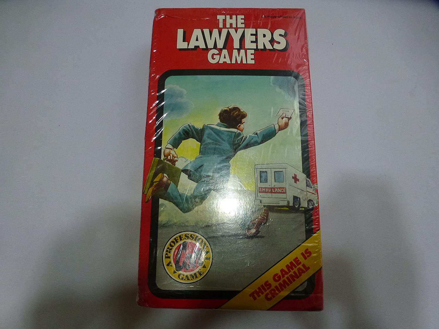 The Lawyers Game  A Professional Con Game