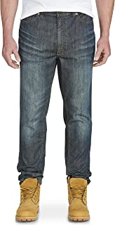 True Nation by DXL Big and Tall Tapered Stretch Jeans