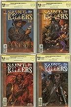 Preacher Saint of Killers 1-4 Set CBCS (not CGC) 9.8,9.8,9..4, 9.6 Signed Garth Ennis