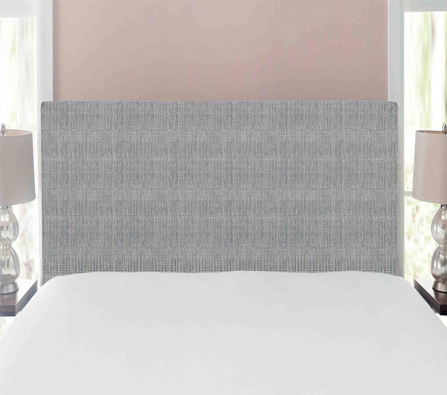 Ambesonne Max 72% OFF Los Angeles Mall Faux Suede Headboard Home Digitally Textile Printed