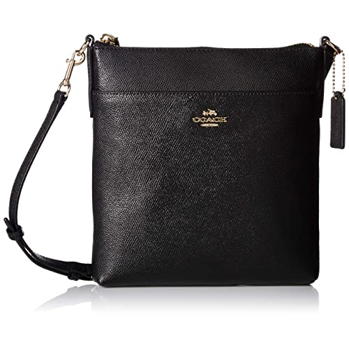 COACH Womens Messenger Crossbody in Crossgrain Leather