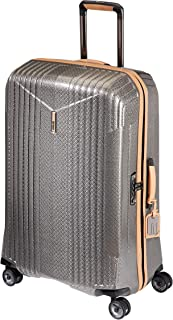 """Hartmann 7R Large Hardsided Spinner Suitcase, 30"""" Rolling Luggage in Titanium"""