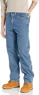 ملابس العمل Wrangler Riggs للرجال مقاومة للاشتعال بارد فانتاج مريح صالح جينز Xbig