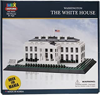 Oxford Washington D.C. The White House Building Block Set, 930 pcs