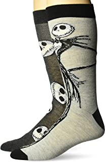 Men's Nightmare Before Christmas 2 Pack Crew Socks