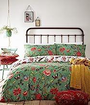 Creative Cloth Pomelo Duvet Set, Polycotton, Verdi Green, Double