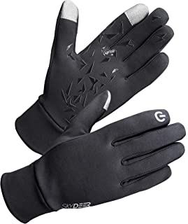 SKYDEER Men's and Women's Lightweight and Thermal Winter Running Gloves Liner (SD2130)